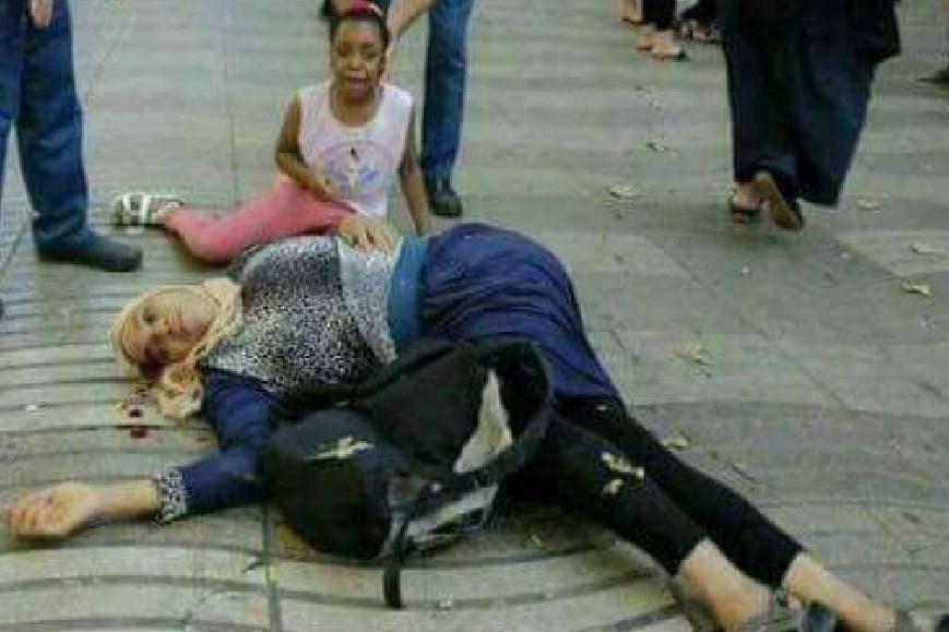 Muslimanka Zrtva Barselona