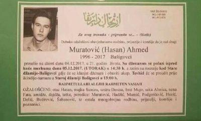 Muratovic Ahmed Osmrtnica