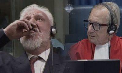 Praljak Preminuo U Sudnici