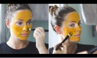 Zlatna Maska Od Kurkume