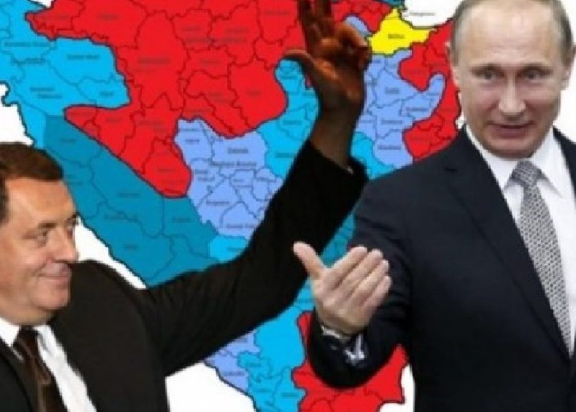 Putin Dodik Rusija RS