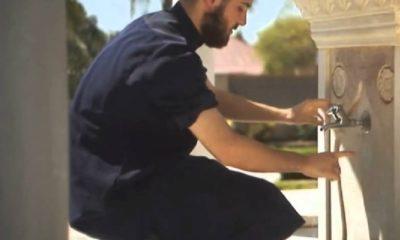 Musliman Abdest Noge