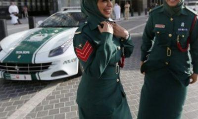 Turist Policajka Dubaji