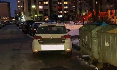 Policija Prijavljena Zbog Nepravlinog Parkiranja