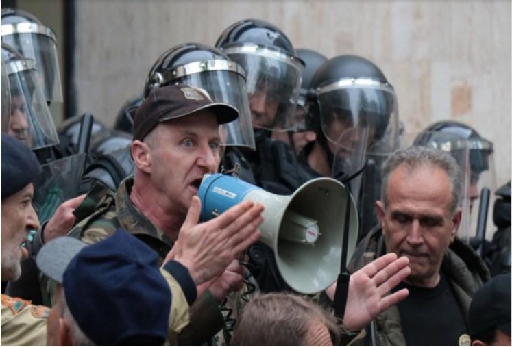 Tuca Ispred Parlamenta BiH