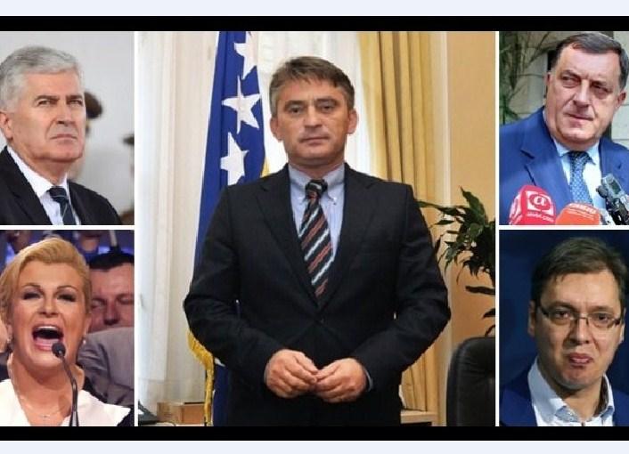 Komsic Dodik Kitarovic